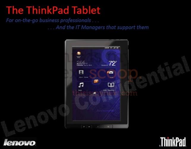 Lenovo ThinkPad Honeycomb Tablet _0